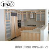 Искусственный свет камня кварца кухни - серый Countertop