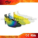 Vetri protettivi colorati resi personali dei militari degli occhiali di protezione del Amy dell'occhio tattico del colpo