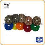 4-дюймовый ручной шлифовальный станок шлифовальный камень для матирования сухой шлифовки блока используйте шлифовальную ленту