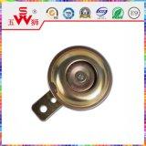 Haut-parleur fort de baril de klaxon d'or ou noir de disque