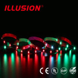 Indicatore luminoso di striscia indirizzabile di IP65 SMD5050 RGB CI LED