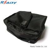 Pequeña bolsa de herramientas portable del poliester impermeable negro de encargo para la cámara