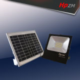 Lumière solaire de projecteur de DEL avec l'urgence