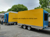 ラウンド・コーナの販売のための移動式食糧トラック