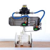 Поставщик шарикового клапана пневматического привода 3PC