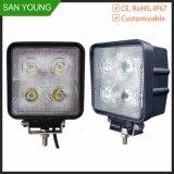 Lumière pilotante tous terrains de travail de véhicules de lampe de lumière de travail du CREE DEL du CREE 40W 4LED 2400 LM