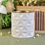 De nieuwe Kruik van de Kaars van de Aankomst Witte Ceramische