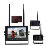 4手段のための無線カメラ7inchのクォードバックアップカメラキット