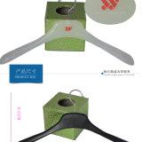 Einfache Spitzenumhüllungen-Plastikkleiderbügel kundenspezifisch