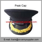 中国の卸し売り安い軍隊の金金属の警察の軍当局者の帽子