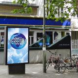 Do lado da estrada Publicidade Design atraente caixa de luz
