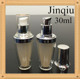 Оптовая роскошная пластичная косметическая бутылка лосьона тела