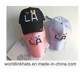 Custom Ployester 3/2D Embroidery niños Tapa con Imprimir 6/5 Grupo Gorra de béisbol