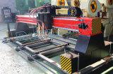 Máquina de estaca leve profissional da placa de aço do pórtico do dever do CNC