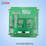 3.7 diente caliente del panel de la pulgada 128X128CV10 con UC1617s