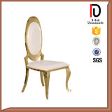 Роскошный стул нержавеющей стали самомоднейшей конструкции для живущий комнаты (BR-SS068)
