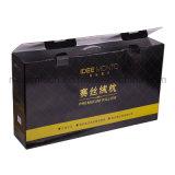 黒いカラー熱い押すカスタマイズされた枕ペーパーギフト用の箱
