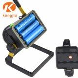 Hight 힘 T6 옥외 LED 재충전용 탐조등 일 빛
