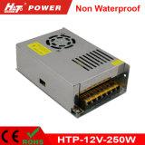 fuente de alimentación de 12V 20A LED con Htp-Series del Bis de RoHS del Ce