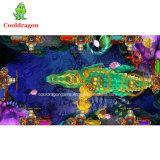 سمكة صيّاد [أركد غم مشن] محاطة ملك 2 يصطاد مرئيّة سمكة [غم تبل] يقامر