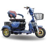 Barato 2 lugares de 3 rodas Scooter eléctrico não de segurança para as pessoas idosas