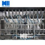 Las boquillas de 12 botellas de PET aceite comestible de la máquina de llenado de líquido