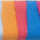 Tela de rayón teñida poliester de la fibra química para la materia textil de la ropa de la mujer