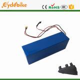 36V de Batterij van het Lithium van de Fiets van de Elektrische Motor van de Stijl van de Driehoek van 15.4ah