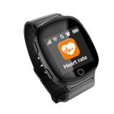 Ouvir o relógio esperto do perseguidor do GPS do monitor da taxa para pessoas adultas