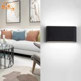 Верхний свет стены RoHS 12W черный СИД Ce качества напольный