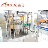 Máquina de rellenar del refresco de la botella de cristal de la alta calidad