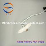 Herramientas de los rodillos de pintura de los rodillos del ángulo de Ptee FRP