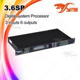 3.6sp 3 dans le processeur d'acoustique de 6 à l'extérieur USB