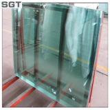 Raggruppamento ultra chiaro di vetro Tempered che recinta balaustra di vetro