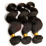 Оптовая торговля Virgin бразильского Черный кривой тела человеческого волоса добавочный номер