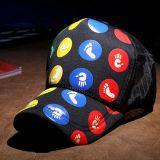 Promoção personalizado Pac Malha Impressas a preto de alta qualidade Boné viseira mulheres Verão Hat