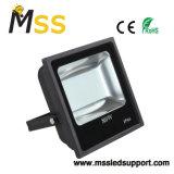 LED cuadrada de 80W en el exterior de la lámpara halógena de alta potencia con ultrafino