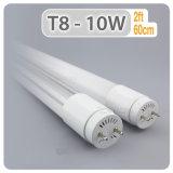 Illuminazione commerciale 0.6, 0.9, 1.2, indicatore luminoso di vetro del tubo di 1.5m LED