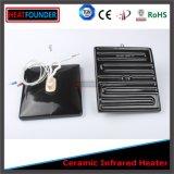 Calentador de cerámica infrarrojos eléctricos personalizados con termopar K o J