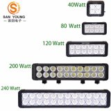 200W LED Light Bar Offroad Double Row, Ultra Slim LED Light Bar IP 68 impermeável Super Bright LED Light Bar