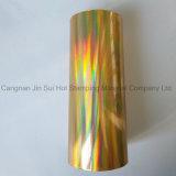 Material caliente caliente de la venta de la lámina para gofrar para la tela