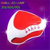 В форме сердечка 9 Вт мини-гель лампа Беспроводной светодиодный лак для ногтей УФ лампы