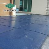 Material resistente al UV Bonito Precio de bajo rendimiento de seguridad de plástico de la piscina cubierta para Piscina cubierta Piscina Polígono de proteger a los niños