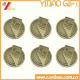 Подгонянное медаль плакировкой золота легирующего металла цинка с логосом