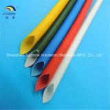 Manicotti Braided della gomma di silicone di vetro di fibra