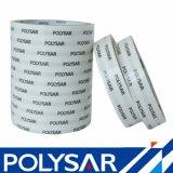 130 micrones de doble adhesivo solvente del tejido echaron a un lado cinta