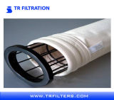 Цедильный мешок сборника пыли войлока иглы 100% PTFE Китая