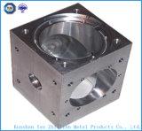 Pièces de usinage de commande numérique par ordinateur de haute précision de pièces en aluminium ou de pièces d'acier inoxydable