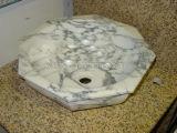 Естественная раковина ванной комнаты Onyx для верхней части тщеты