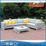 Сад алюминиевый ткань диван в разрезе садовой мебелью